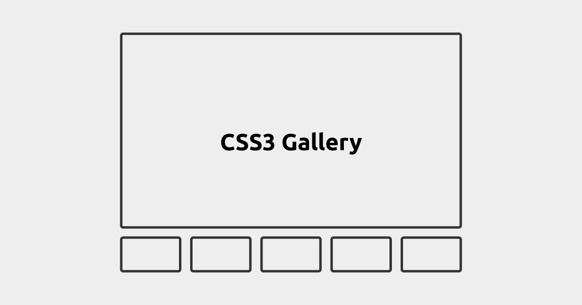 30+ CSS Image Gallery Examples & Templates 2019 | 630x1200